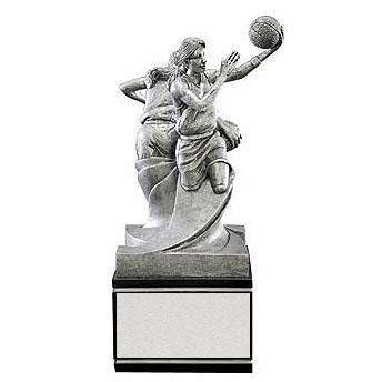 "8.5"" Female Basketball Double Action Resin"