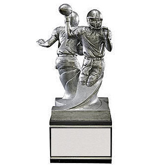 "8.5"" Double Action Football Resin"