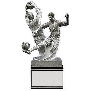 "8.5"" Double Action Male Soccer Resin"