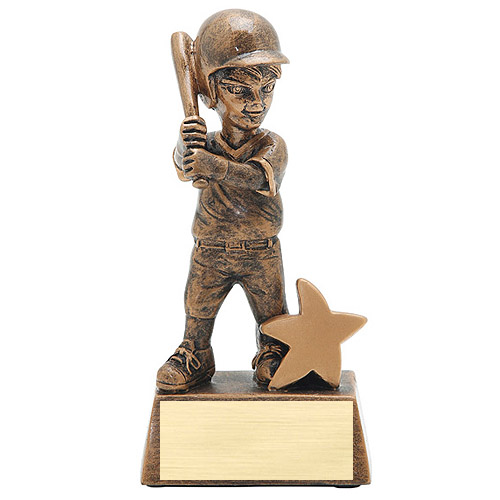 5 in Junior Star Baseball Resin