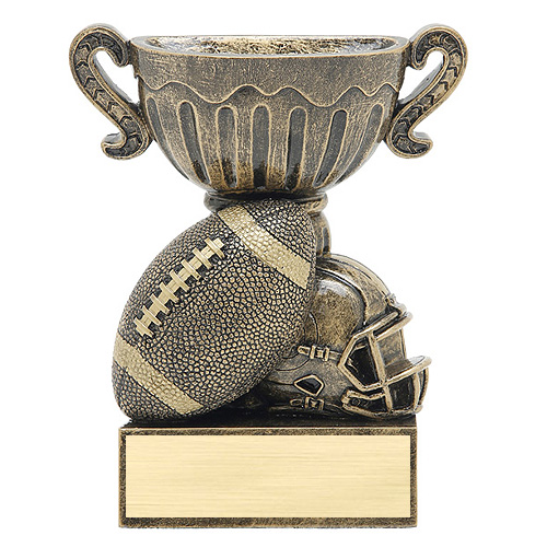 4.5 in Football Sports Cup Resin