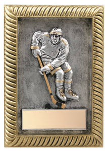 5 in x 7 in Hockey Resin Trophy