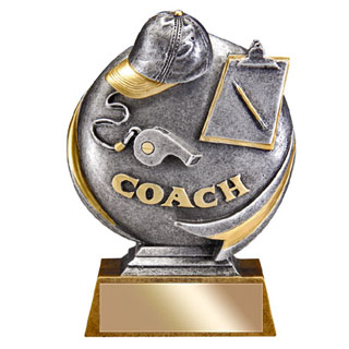 "5"" 3D Motion Extreme Coach Resin"