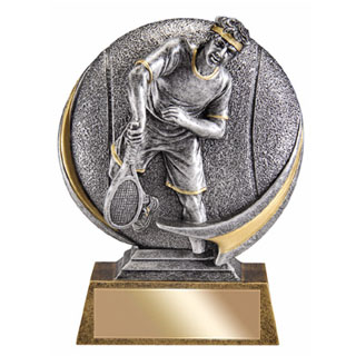 "5"" 3D Motion Extreme Male Tennis Resin"