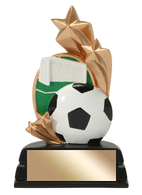6 in Soccer Trophy Star Series