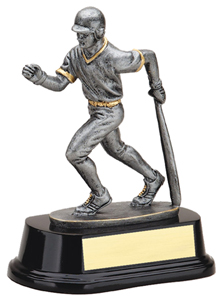 6 1/2 in Resin Sculpture Baseball Trophy