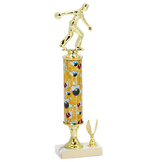 13 in-16 in Classic Bowling Trophy