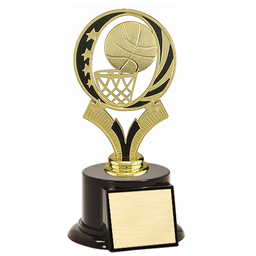 "7"" Midnite Star Basketball Trophy"