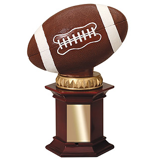"12""  Resin Football Trophy"