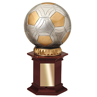 "12"" Soccer Ball Trophy"