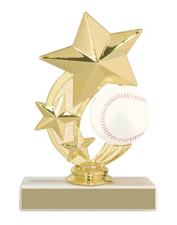 "5 3/4"" Baseball Trophy"