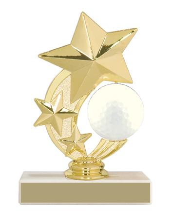 """5-3/4"""" Golf Trophy"""