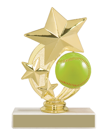 "5 3/4"" Softball Trophy"