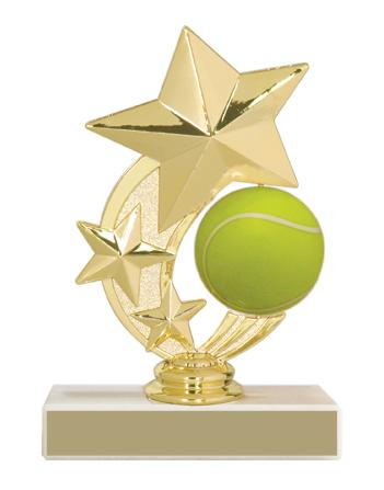 """5-3/4"""" Tennis Trophy"""