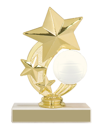 "5-3/4"" Volleyball Trophy"