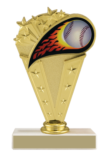 6-3/4 in Baseball Trophy