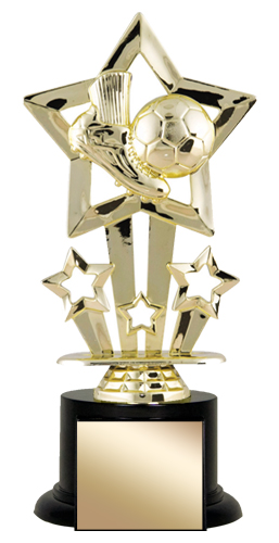 8 in Soccer Trophy