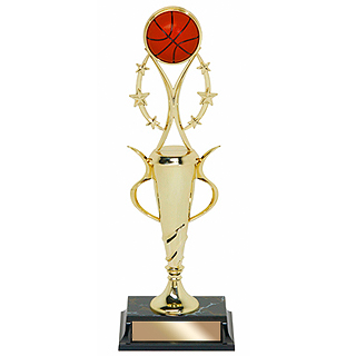 15 in Basketball Trophy