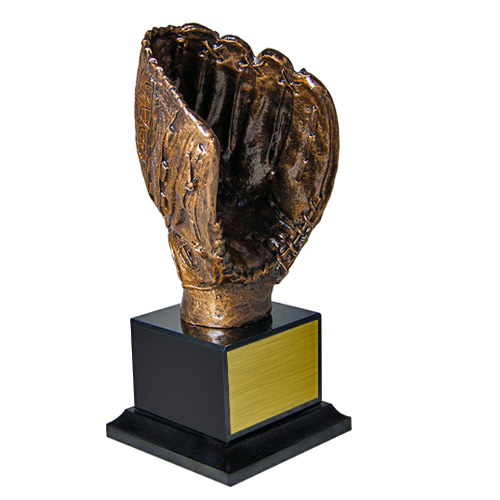 12 in Baseball Glove Trophy