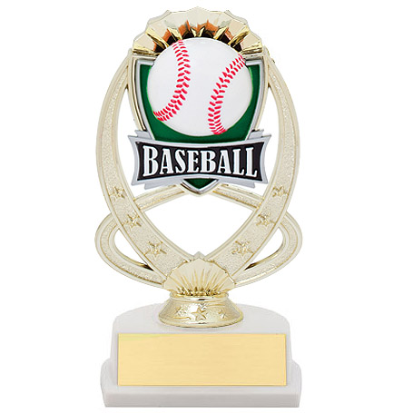 7.5 in Baseball Theme Trophy
