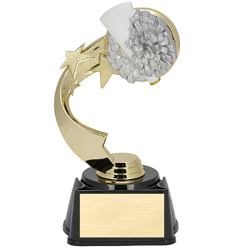 7 in Ribbon Star Cheer Trophy