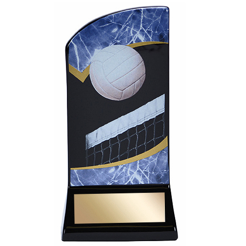 7 in Volleyball Ceramic Sports Trophy