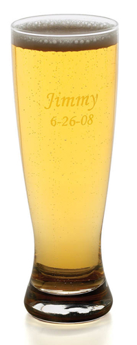 Personalized 20 oz. Grand Pilsner Beer Glass