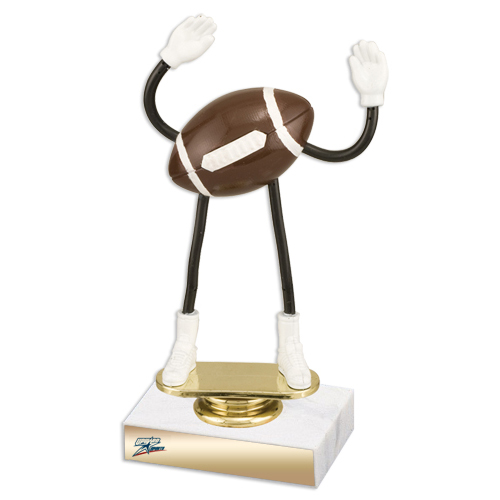 Flexible Football Trophy