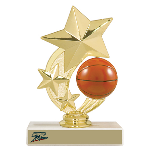 "5-3/4"" Basketball Trophy"