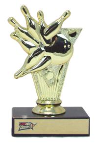 5-1/4 in Strike Bowling Trophy