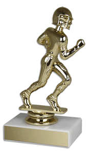 "5 1/2"" Football Bobblehead Trophy"