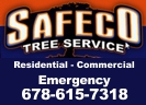Website for Safeco Tree Service of Loganville