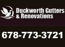 Website for Duckworth Gutters & Renovations