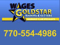 Website for Wages Goldstar Roofing & Gutters