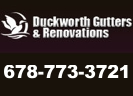 Website for Duckworth Gutters & Renovations