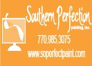 Website for Southern Perfection Painting, Inc.