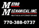 Website for Metro Mechanical, Inc.