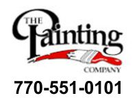 Website for The Painting Company