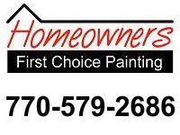 Website for Homeowners First Choice Painting, Inc.