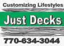 Website for Just Decks, LLC