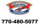 Website for Champion Plumbing & Drain Cleaning, LLC
