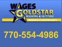Website for Wages Goldstar Roofing & Gutters