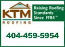 Website for K T M Roofing Company, Inc.
