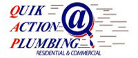 Website for Quik Action Plumbing Company