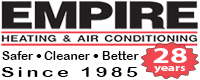 Website for Empire Heating & Air Conditioning, Inc.