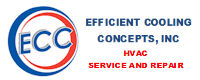Website for Efficient  Cooling  Concepts, Inc.