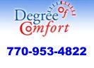 Website for Degree of Comfort, Inc.