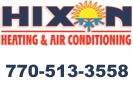Website for Hixon Heating & Air Conditioning, Inc.