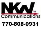 Website for N K W Communications Inc.
