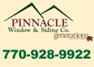 Website for Pinnacle Window & Siding Co.